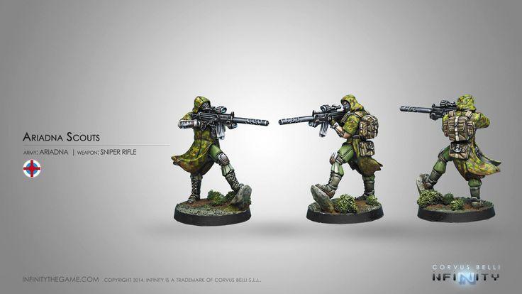 Ariadna Scouts (Sniper Rifle)