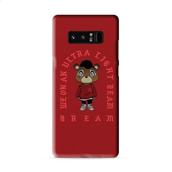 Ultra Light Beam X Yeezy S3 Bear Samsung Galaxy Note 5 3D Case Caseperson