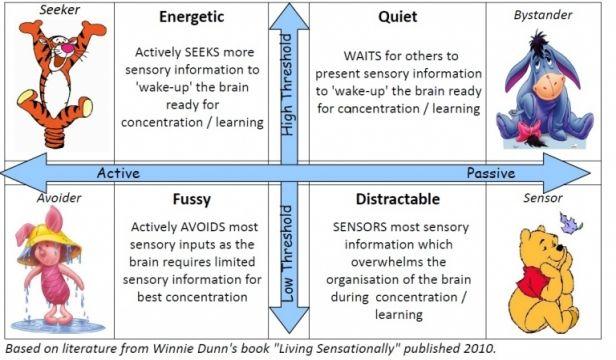 Sensory Processing Types