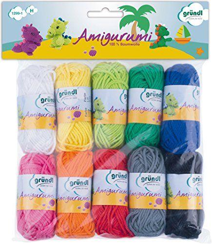 Gründl Amigurumi - Kit I de ganchillo, multicolor #Gründl #Amigurumi #ganchillo, #multicolor