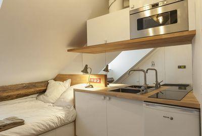 Am nagement studio paris 10m2 fonctionnels studios - Plan amenagement cuisine 10m2 ...