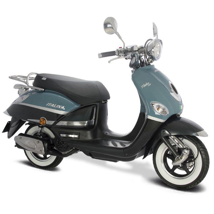 Italika Vitalia 150  Motor: 149.6cc  Transmisión: Automátca/por banda.  #Moto #Scooter