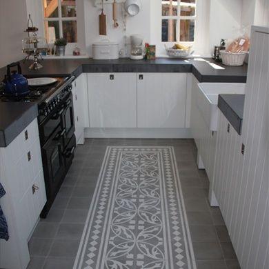 Portugese cement vloertegels voor keuken
