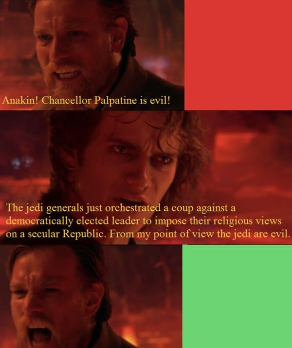 Star Wars Memes That Make It Perfectly Clear The Empire Did Nothing Wrong Star Wars Memes Funny Star Wars Memes Prequel Memes