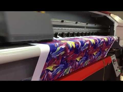 XULI flag banner printer with 4pcs Xaar 1201 printhead-X6-2004TX