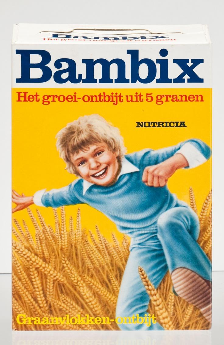 Ik kreeg elke ochtend een bord Bambix. Met twee schepjes suiker en je zag het smelten op de hete pap. Was best lekker...