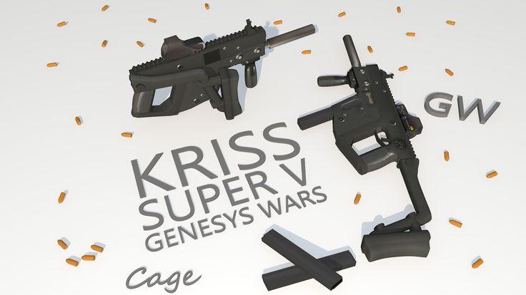 Kriss Vector By: Nikolas 'Cage' Griep