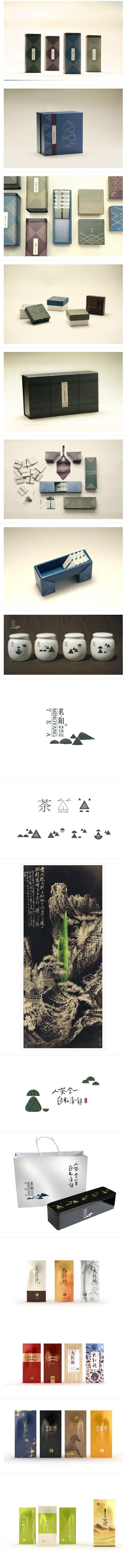 中式茶品牌设计 设计圈 展示 设计时代网...@八戒一枝花采集到laoba(690图)_花瓣平面设计