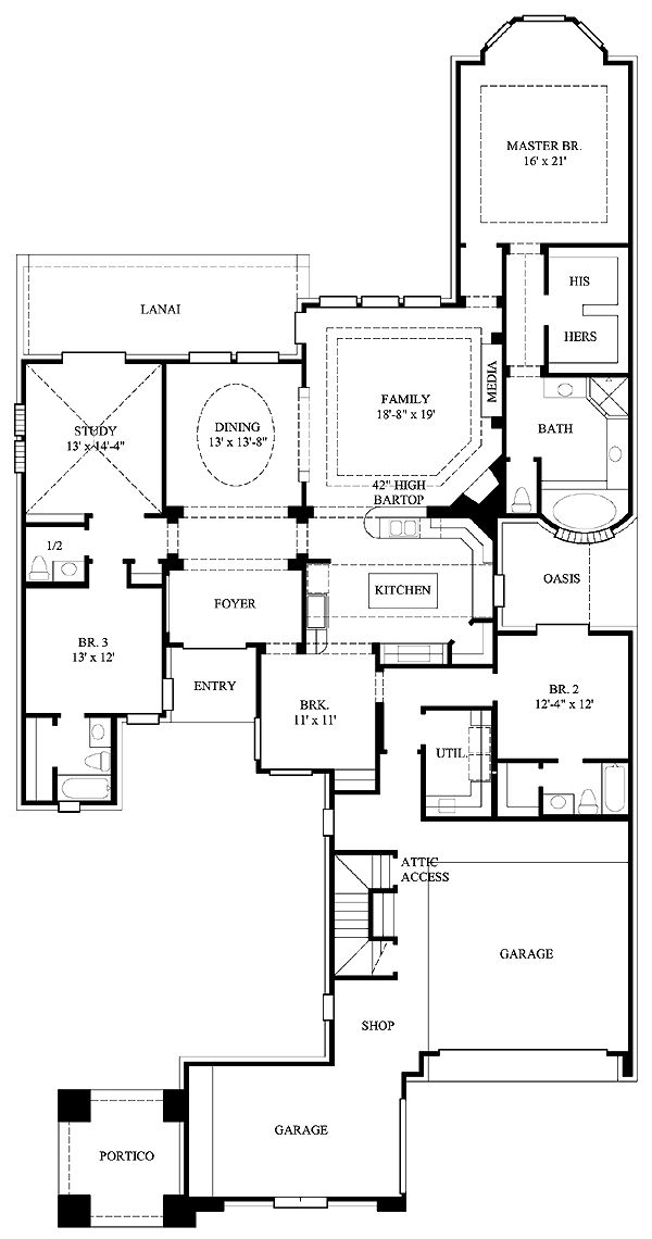 26 best mansions images on pinterest dream houses mansions and first floor plan of european house plan 61531 malvernweather Choice Image