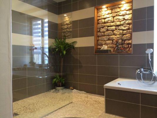 33 best images about salle de bain on pinterest belle - Ambiance zen salle de bain ...