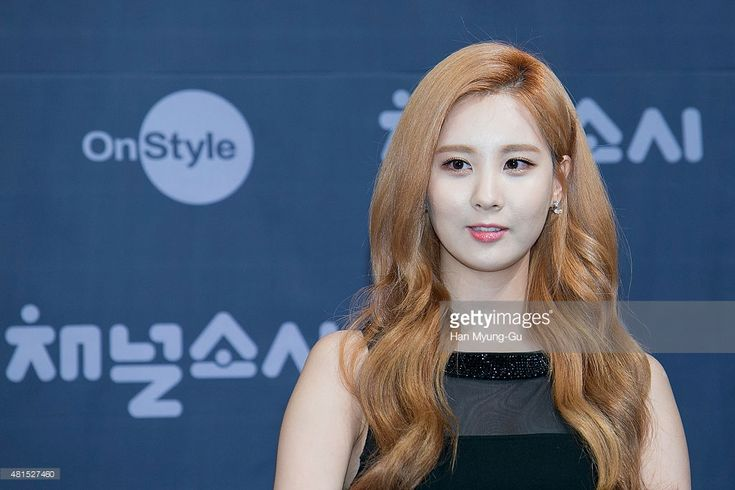 Seohyun of South Korean girl group Girls' Generation attends the OnStyle 'Channel SNSD' Press Conference at Imperial Palace Hotel on July 21, 2015 in Seoul, South Korea. The program will open on July 21, in South Korea.