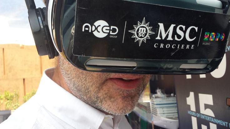 MSC Experience: MSC Crociere sperimenta una tecnologia proprietaria di immersione nella sua flotta di navi da crociera