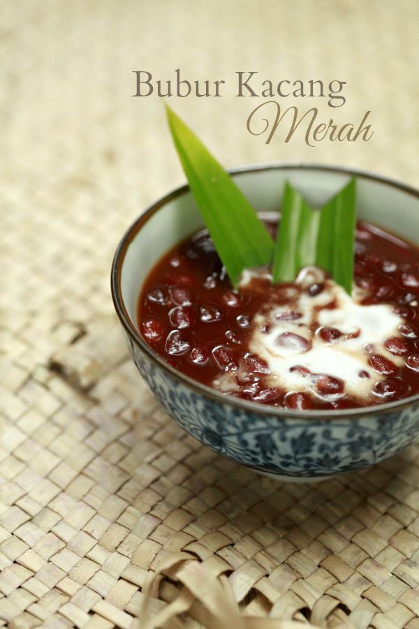 masam manis: Bubur Kacang Merah