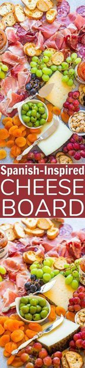 Easy Spanish-Inspire Easy Spanish-Inspired Cheese Board - Learn...  Easy Spanish-Inspire Easy Spanish-Inspired Cheese Board - Learn my TIPS and tricks to create the PERFECT cheese board!! From prosciutto to manchego and everything in between this board has ALL the goodies! Itll be a major hit at your next party!! Recipe : http://ift.tt/1hGiZgA And @ItsNutella  http://ift.tt/2v8iUYW