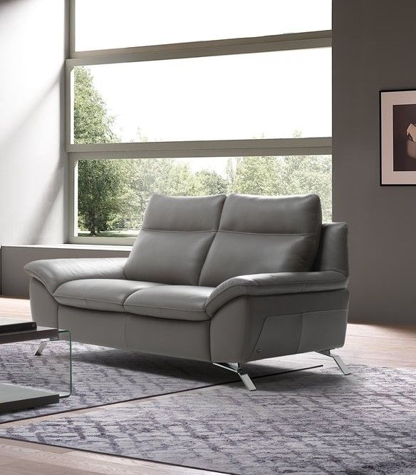 Buy Living Room Natuzzi Reclining Sofa At Creative Furniture.The Unique  Chromed Metal Legs Anchor The Model To The Floor, And The Padded Arms  Invite You To ...