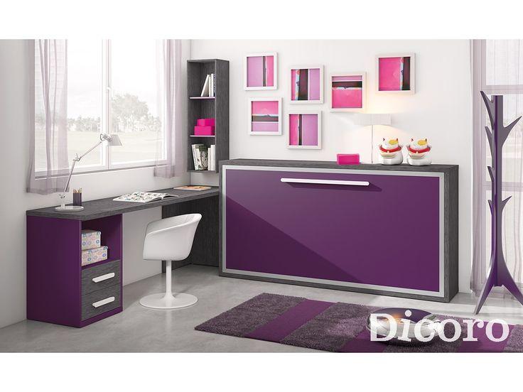 M s de 1000 ideas sobre oficina peque a en pinterest - Habitaciones camas abatibles ...
