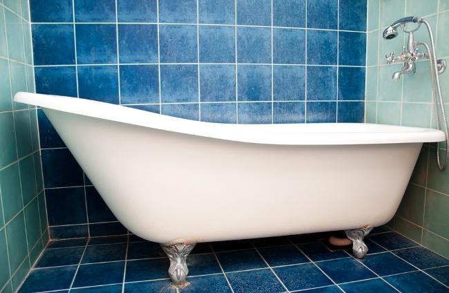 How To Refinish A Bathtub Diy My First Home Design Idea Pinterest