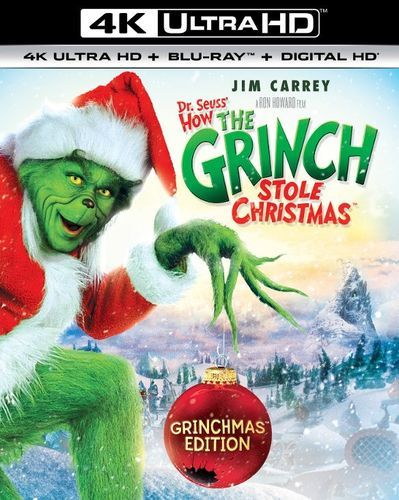 Dr. Seuss' How the Grinch Stole Christmas [4K Ultra HD Blu-ray] [2000]