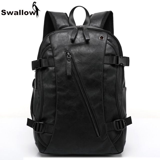 Special offer Fashion Design PU Leather School Bag For Teenagers Large Capacity High Quality University Student Bag Backpack Laptop For Travel just only $28.78 with free shipping worldwide  #backpacksformen Plese click on picture to see our special price for you