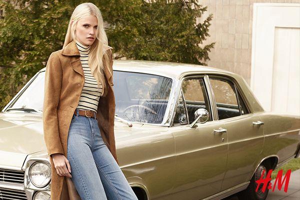Stwórz nowy, jesienno-zimowy look! Dżinsowe i zamszowe dzwony, wzorzyste kombinezony, szmizjerki i sukienki z dżerseju – najnowsza kolekcja H&M to najmodniejsze w tym sezonie ubrania i dodatki, nawiązujące do lat 70. Zainspiruj się na jesień!