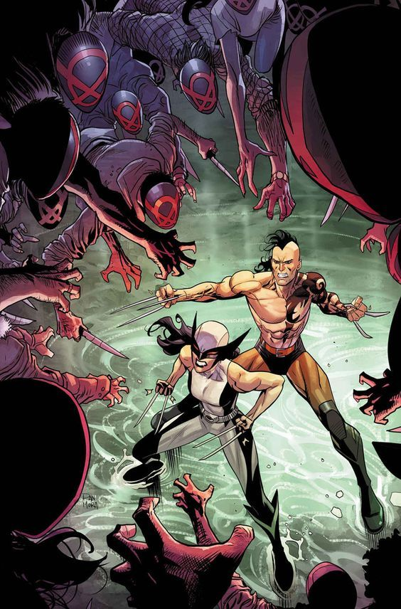 a55d15f385e Daken y X-23 | Daken and Laura brother and sister | Marvel comics ...