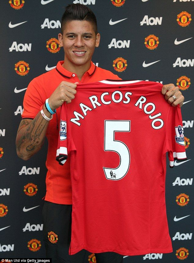 Rojo will wear the No 5 shirt and has signed a five-year contract at the club