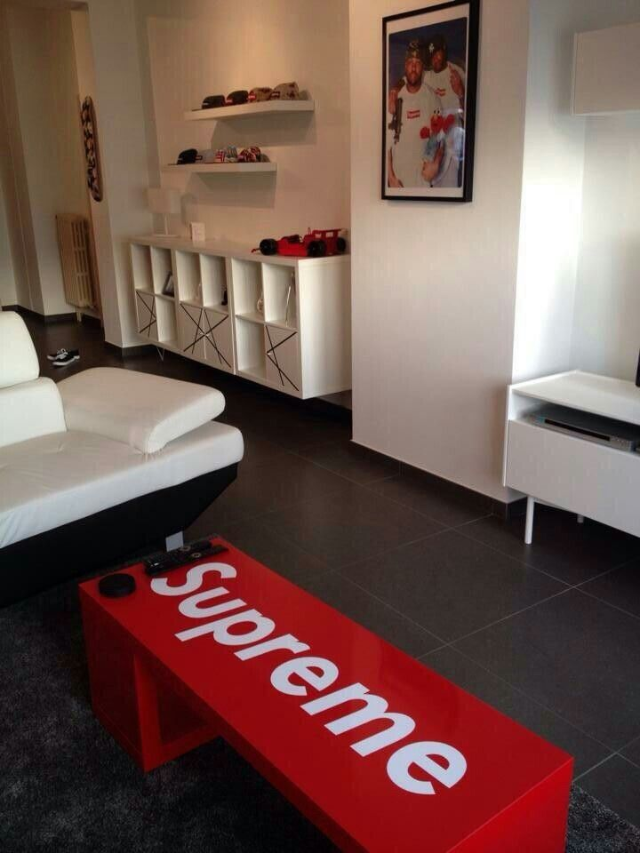 Supreme Home Decor Hypebeast Room Living Room Furniture