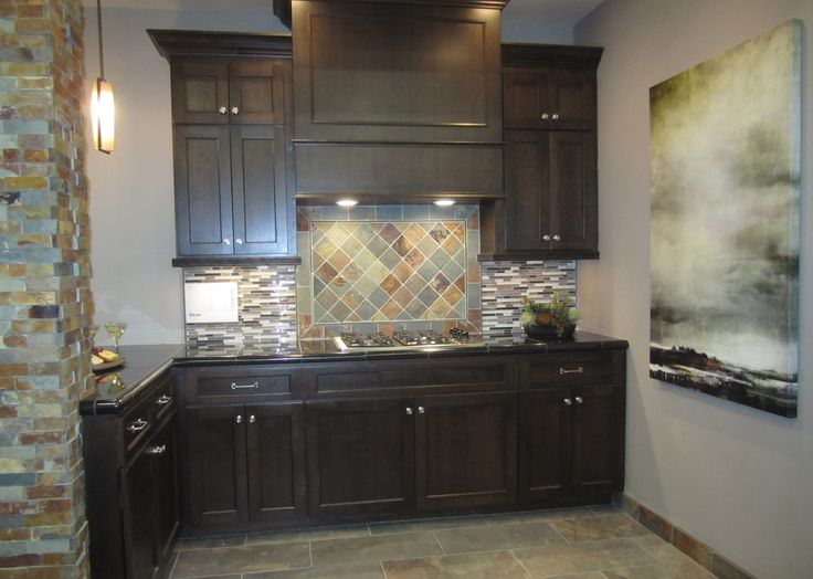 slate kitchen | Slate kitchen, Kitchen cabinets, Kitchen ...