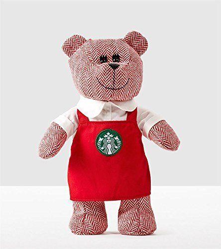 Starbucks Bearista Bear with Red Apron