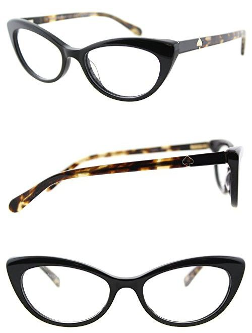 99c29dc57dc3 Eyeglasses Kate Spade Analena 0807 Black. Find this Pin and more on  Prescription Eyewear Frames ...