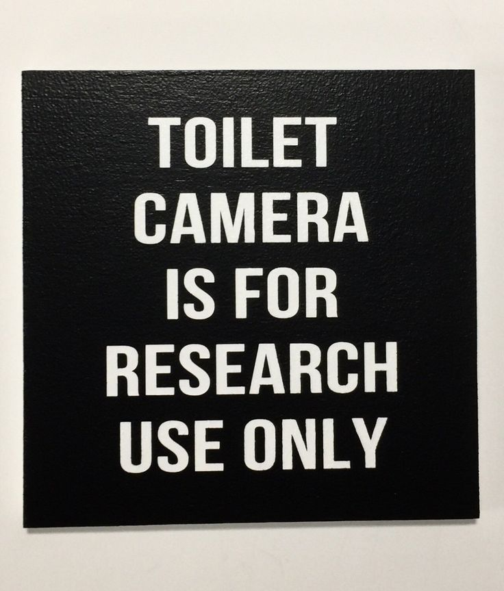 TOILET CAMERA, Funny Bathroom Signs, Bathroom Sign, Bathroom Humor, Wall Sign, Funny Bathroom Art, Snarky, Wall Decor, 8x8 or 12x12 by 2TreesStudios on Etsy https://www.etsy.com/listing/500390342/toilet-camera-funny-bathroom-signs
