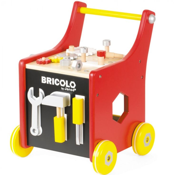 gereedschapstrolley redmaster janod | ilovespeelgoed.nl