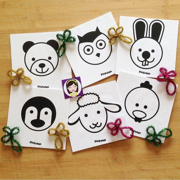 """""""Pia Polya İlk Kartlarım 03""""  Oyun, Pia Polya'nın tüm çocuklara hediyesi olup, fikir mülkiyeti Hotalı Ambalaj Tasarımına aittir."""