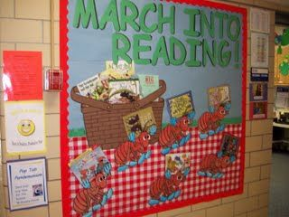 Another great March bulletin board idea.