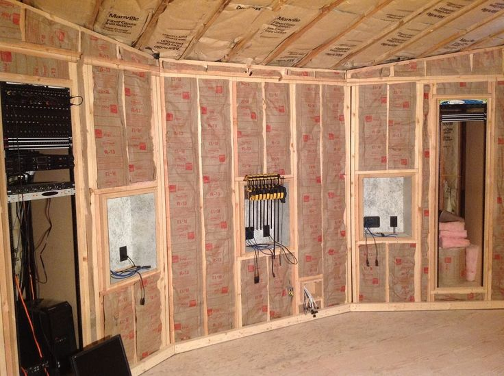 51 best diy recording studio construction images on pinterest inner shell insulation is in next up more acoustic tests to measure our progress solutioingenieria Choice Image