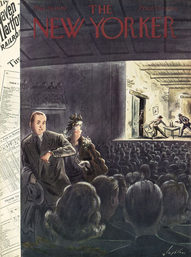 The New Yorker, March 26, 1949 - Constantin Alajalov