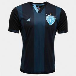 Camisa Lobo Paysandu III 2016 nº 7 - Preto