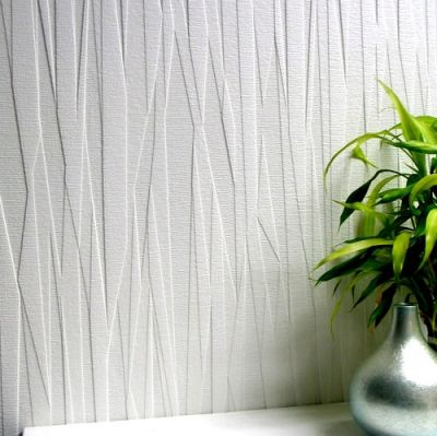 Folded Paper (RD80028) - Anaglypta Wallpapers - A premium, deeply textured blown vinyl wallcovering on a peelable, flat backed paper. A vertical folded paper effect. Please ask for a sample for true texture match.