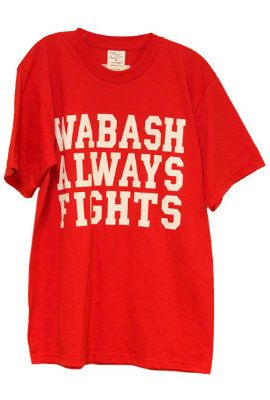 Fight Song T shirt - Made in the USA! | Wabash College