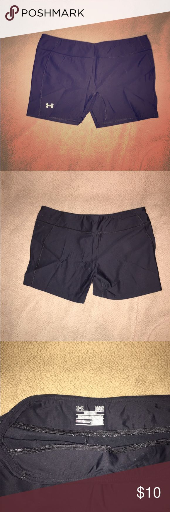 Under armour spandex shorts Black under armour spandex shorts Under Armour Pants Track Pants & Joggers