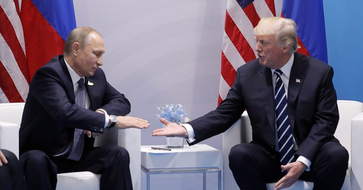 Trump says 'it's time to move forward in working constructively with Russia': 'We negotiated a ceasefire in parts of Syria which will save lives'