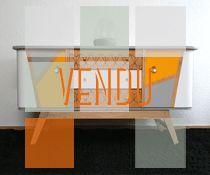 Petit buffet / Enfilade vintage années 60 relookée / VENDU