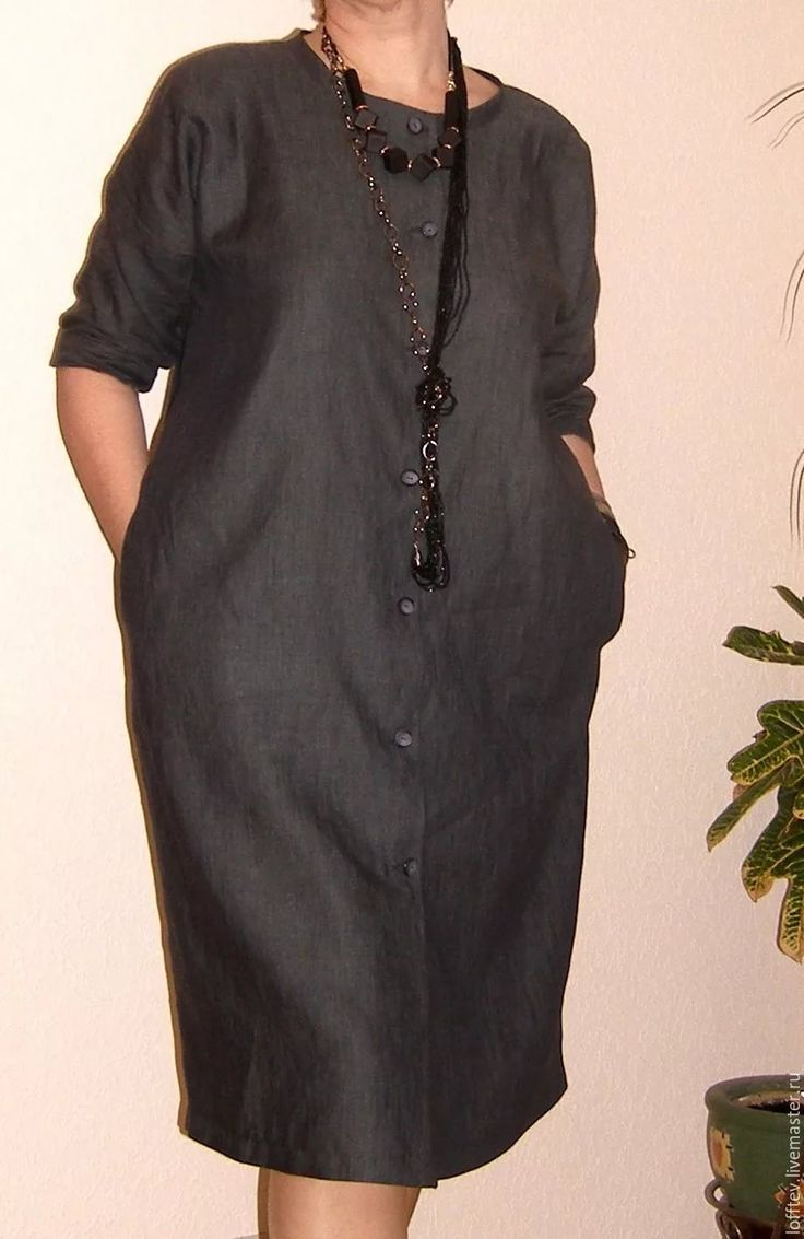 льняное темно-серое платье рубашка: 18 тыс изображений найдено в Яндекс.Картинках