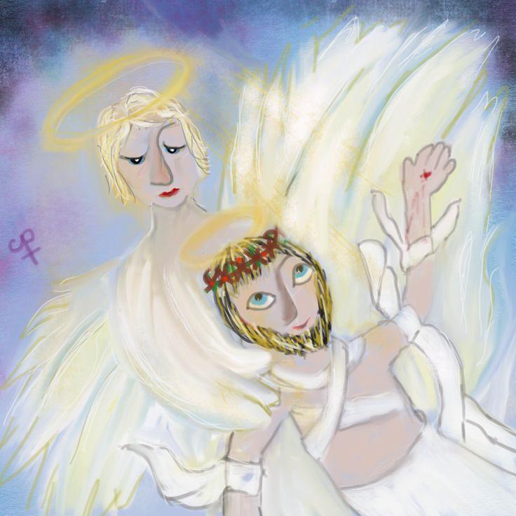 Engel in graf - Jezus ontwaakt