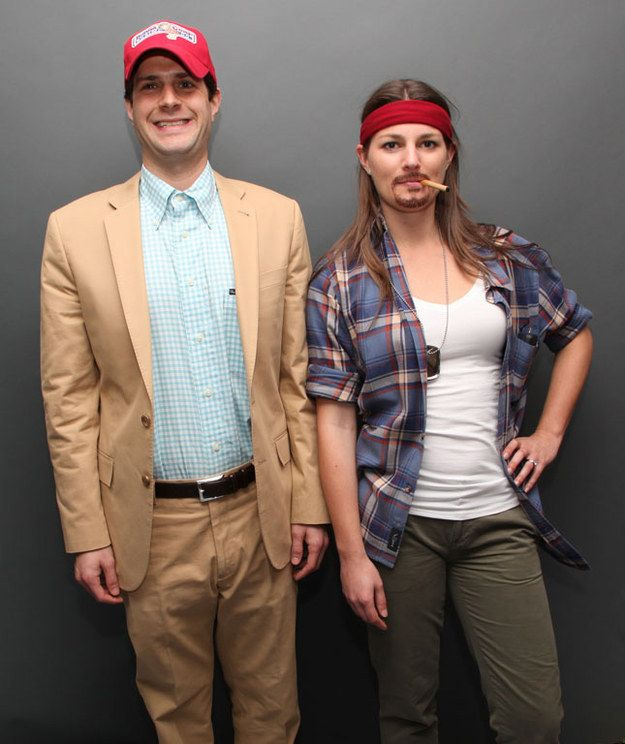 Forrest Gump and Lieutenant Dan: | 25 Super Last-Minute Halloween Costumes That Will Blow People's Minds