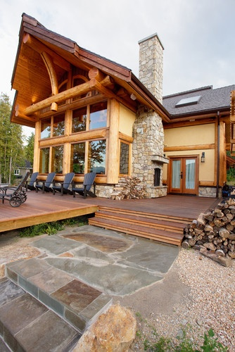 Exterior: 17 Best Images About Log Homes On Pinterest