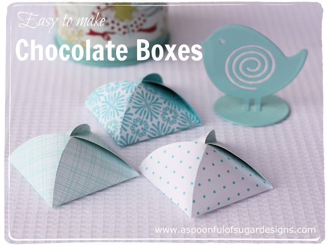 Patron pour Chocolate Box | A Spoonful of Sugar