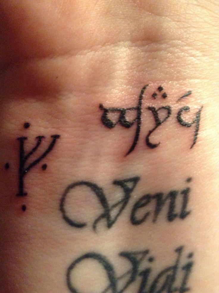 Learn elvish language sindarin alphabet