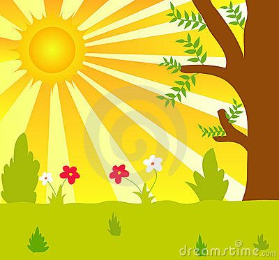 Sunlight Plant Clipart Sun And Plants Pattern