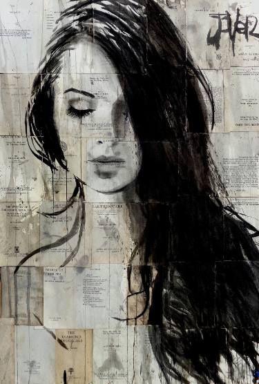 "Saatchi Art Artist LOUI JOVER; Drawing, ""inner realm"" #art"